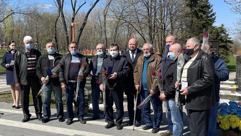 У Покровську вшанували подвиг ліквідаторів Чорнобильської катастрофи, фото-2