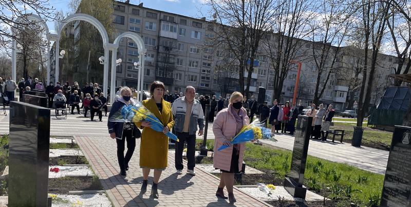У Покровську вшанували подвиг ліквідаторів Чорнобильської катастрофи, фото-6